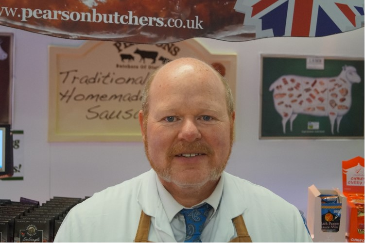 Andrew Hall Pearsons Butchers Ashton