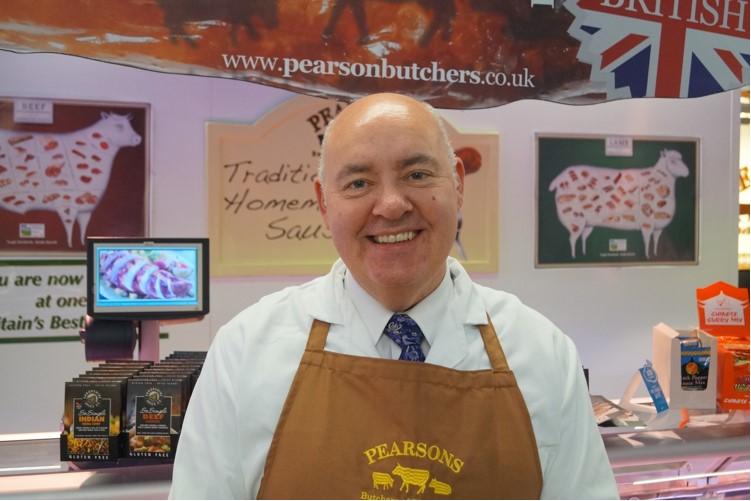 Mark Pearson, Pearsons Butchers Ashton