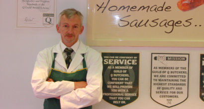 Perry Hollingsworth, Pearsons Butchers