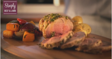 Video: Lamb Mini Roast with Rosemary Butter